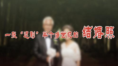 """一張""""遲到""""半個多世紀的結婚照"""