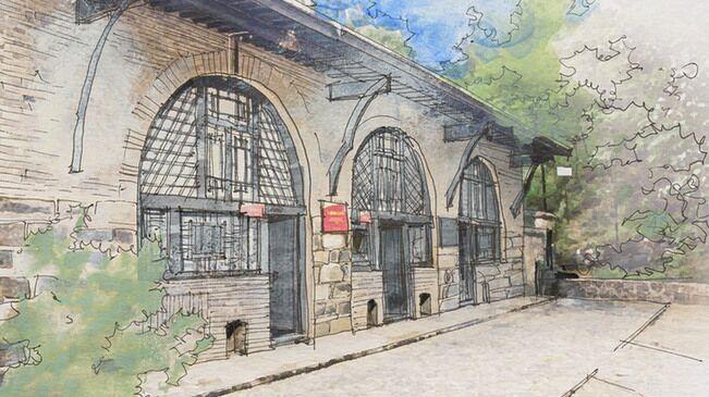 一筆一畫描繪革命舊址 大學生百幅手繪獻禮建黨百年