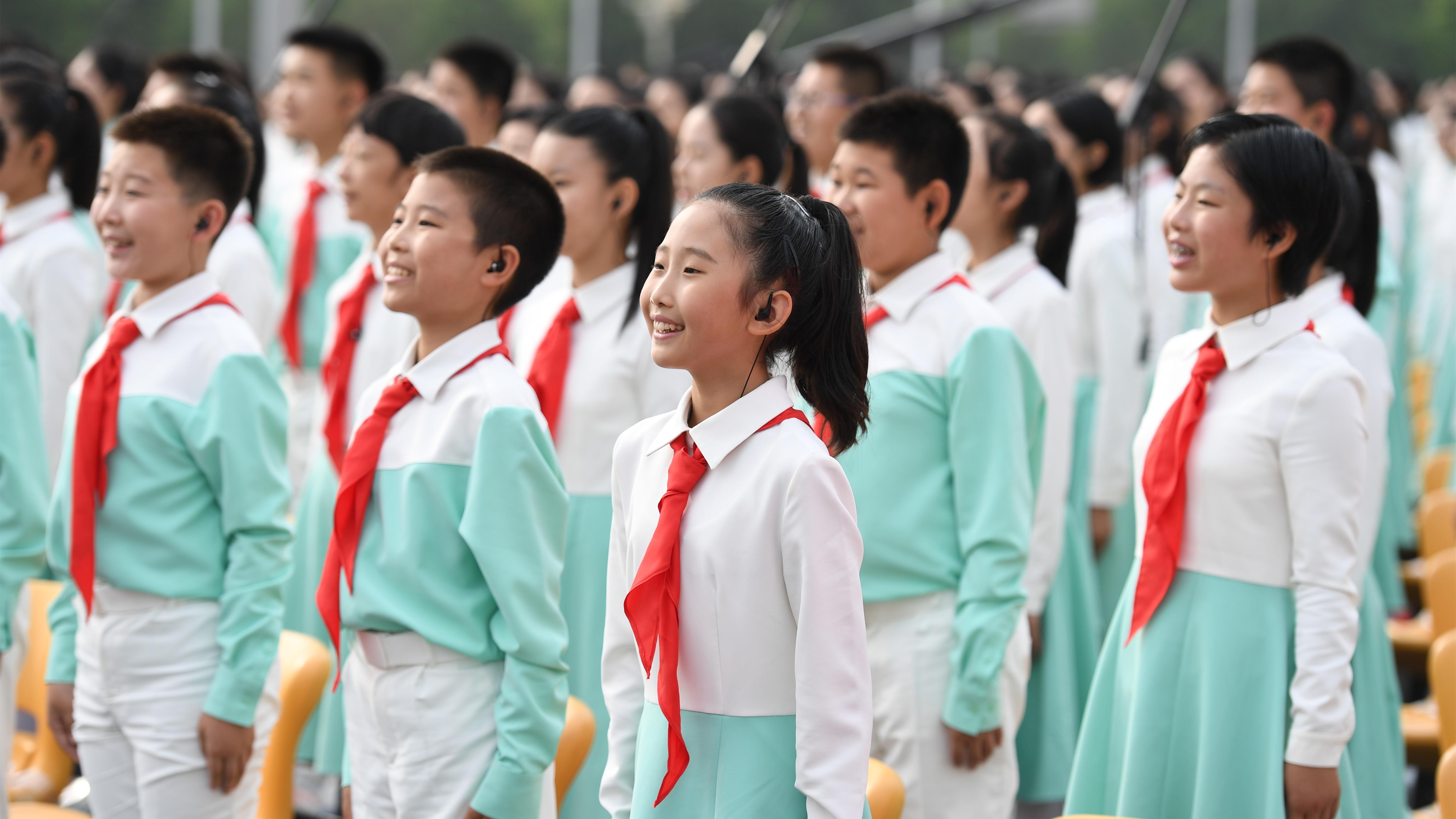 現場畫面!慶祝中國共産黨成立100周年大會將隆重舉行!