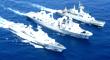海軍完成訓練返航