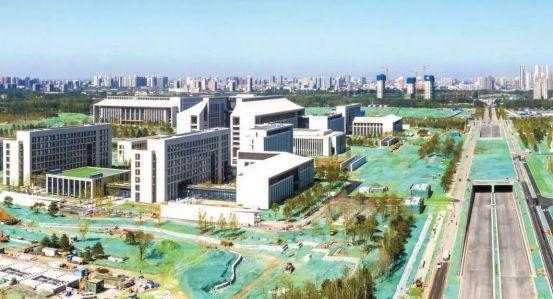 北京城市副中心行政办公区启用