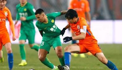 2018足協杯決賽首回合:北京國安主場1:1戰平山東魯能