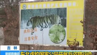吉林:東北虎豹國家公園開展反盜獵行動