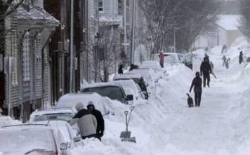 美國:暴風雪來襲 近900個航班被取消