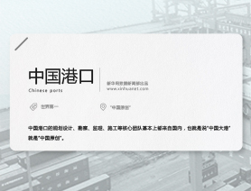 40年·大國名片係列(七):中國港口