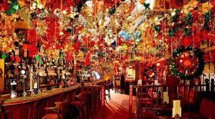 美國紐約:聖誕快閃酒吧正流行