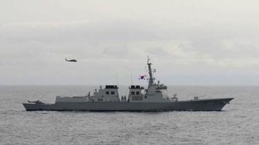 韓軍艦火控雷達照射日偵察機 日韓再起爭執