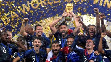 世界杯決賽回顧:法國時隔20年再次捧杯
