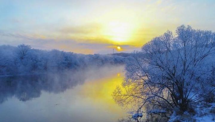 黑龍江:五大連池——霧凇景觀美如仙境