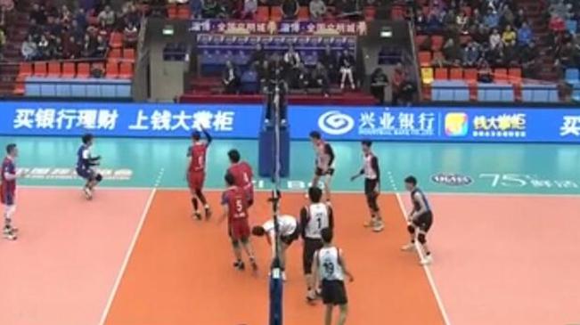 江蘇男排獲得第三名