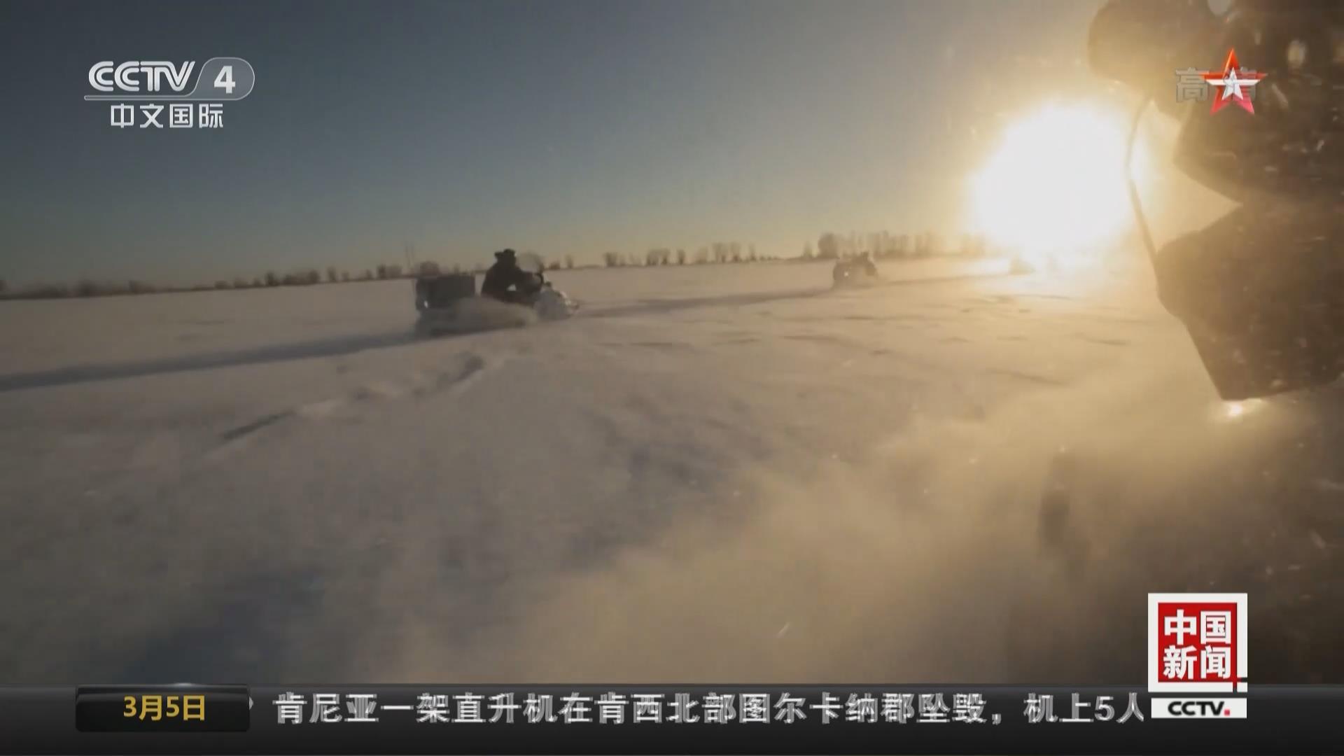 极寒训练!俄媒探访北极特种部队