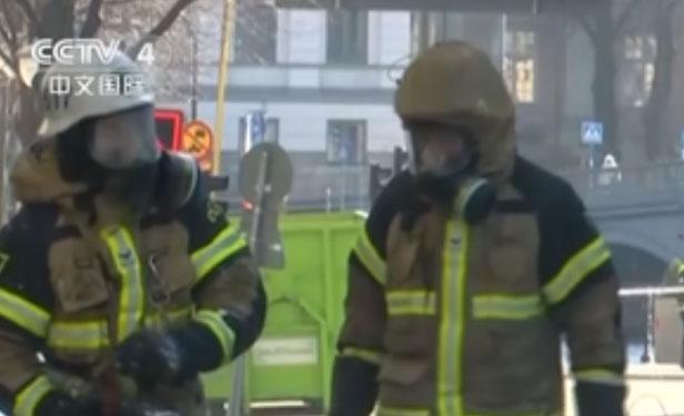 瑞典斯德哥爾摩一公交車發生爆炸
