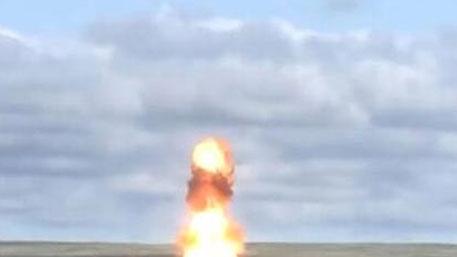 俄成功試射新型反導導彈
