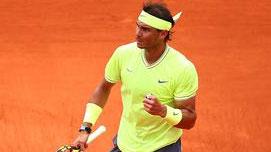 納達爾完勝蒂姆 奪法網第12冠