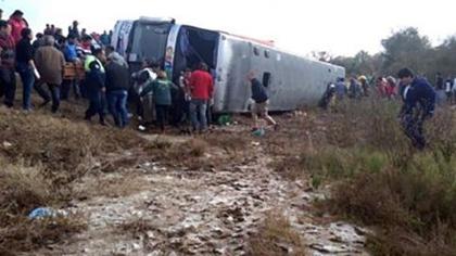 阿根廷發生翻車事故 15死40傷