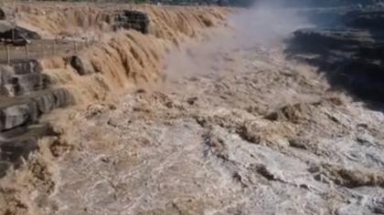空中俯瞰壺口瀑布是何種體驗?