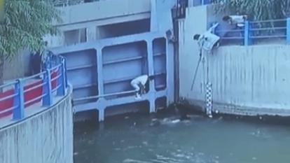 小姐弟不慎溺水 眾人接力救出