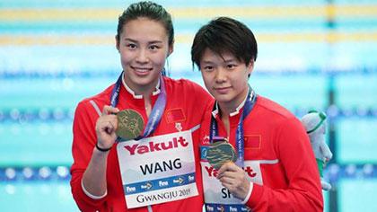 遊泳世錦賽 中國跳水隊再攬兩金