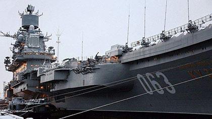 新航母設計集體亮相 俄羅斯發力打造大國海軍?