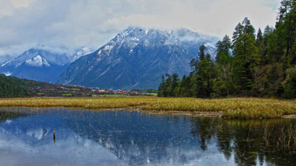 飛閱西藏|來看 如同仙境般的嘎朗湖