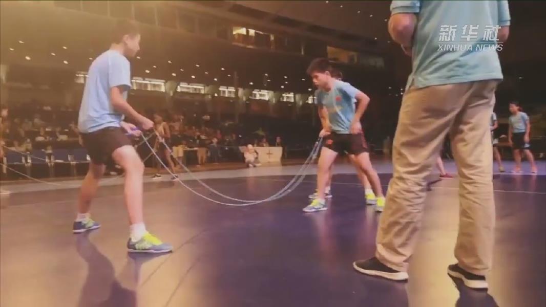 1秒9.5次!跳繩少年團期待再破紀錄