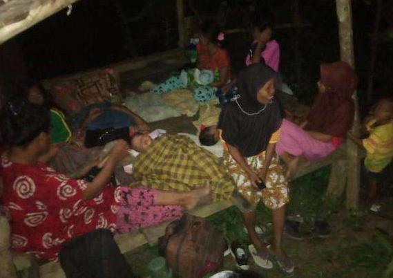 印尼北馬魯古省地震造成2人死亡