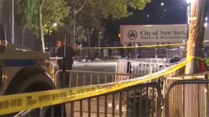 美國紐約發生槍擊事件造成1死11傷
