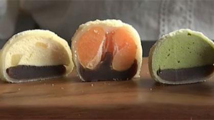 傳統食品時尚進化 韓國年糕冰淇淋成夏日新寵