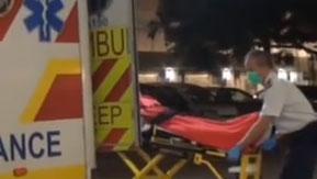 央視獨家採訪受傷香港警員