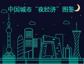 """中國城市""""夜經濟""""圖鑒"""