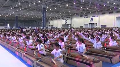 珠海萬人古箏合奏 創新吉尼斯世界紀錄