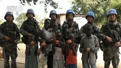 南蘇丹:中秋佳節 我維和官兵守崗位護和平