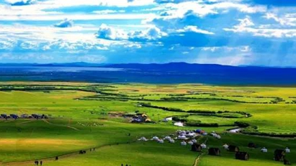 內蒙古烏拉蓋:天邊草原 醉人美景