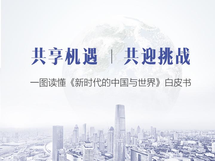 一圖讀懂《新時代的中國與世界》白皮書