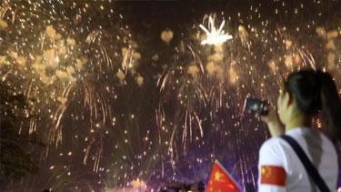 來看!祖國各地共同慶祝國慶節