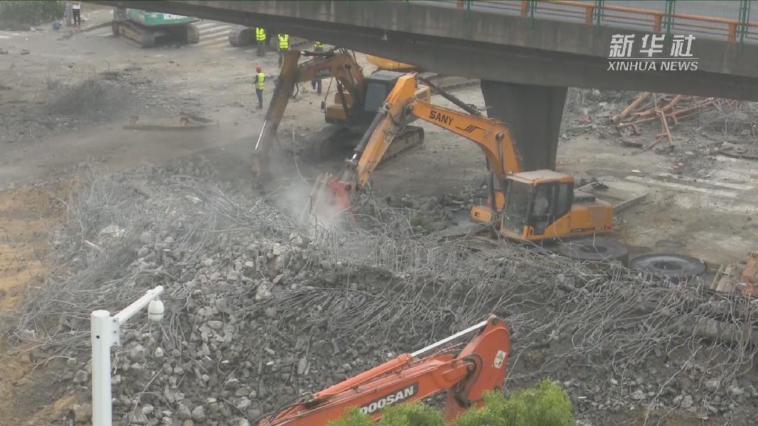 記者連線 | 無錫高架橋側翻事故中運輸車輛超載嚴重