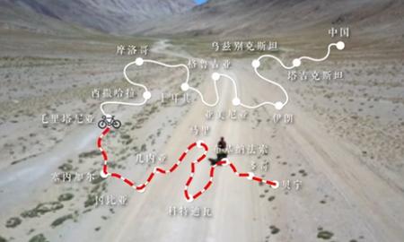 騎車回中國
