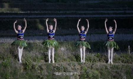 芭蕾之花綻放山谷