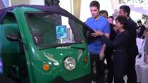 菲律賓快遞員用上中國電動車
