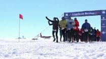 南極:冰上馬拉松 勇敢者的遊戲