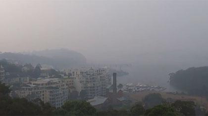 澳大利亞林火持續肆虐 煙霾再次籠罩悉尼