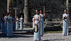 希臘:東京奧運會聖火昨日點燃