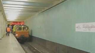 看莫斯科地鐵如何消毒