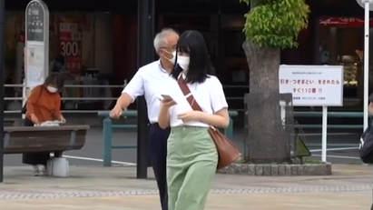 日本大和市擬禁止行人走路看手機