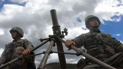 第77集團軍某旅錘煉炮兵分隊連續作戰能力