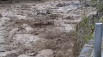 四川壤塘:暴雨至河水暴漲 連夜轉移633戶群眾