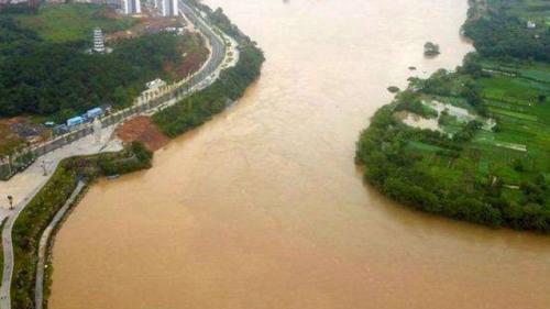 烏江2020年第一號洪水形成