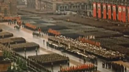 紀錄片重現紅場勝利大閱兵盛況