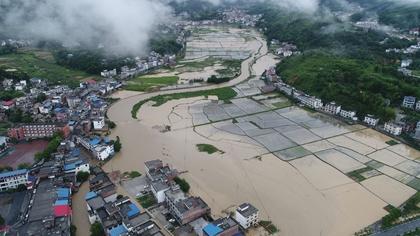 水利部:今年已有304條河流發生超警以上洪水