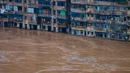 強降雨突襲重慶多地 受災地區全力救災搶險